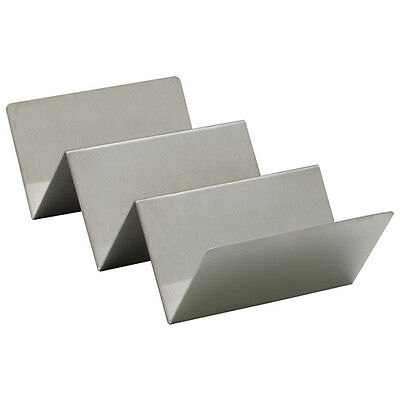 Winco TCHS-23, 2-3 Compartments Taco Holder, Stainless Steel