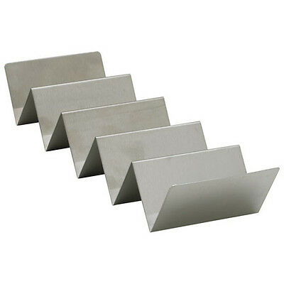 Winco TCHS-45, 4-5 Compartments Taco Holder, Stainless Steel