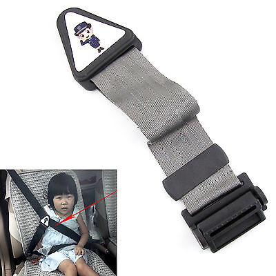 Children Seat Belt Correction Tape Adjuster Keep Neck Free More Safe Comfortable