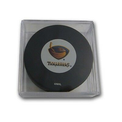 Atlanta Thrashers NHL Logo Collectors Puck