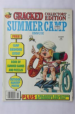 Cracked Collectors Edition Magazine Nov 1985 Summer Camp Humour Paul Lamont MAD