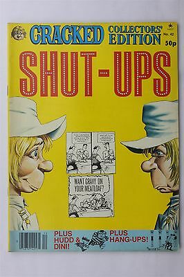 Cracked Collectors Edition Magazine #42 1981 Shut-Ups Humour Comic Robert Sproul