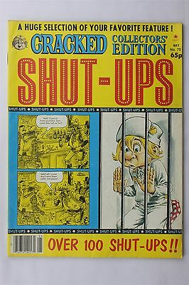 Cracked Collectors Edition Magazine May #70 1984 Shut-Ups Humour Robert Sproul