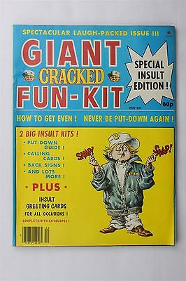 Giant Cracked Magazine Special Edition Fun Kit Winter 1981 Humour Robert Sproul