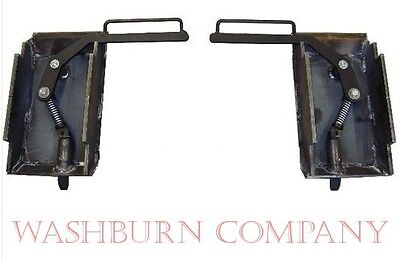 Skidsteer latch box set pair make your own adapter