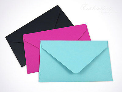 Colored Gift Card Small Mini Envelopes