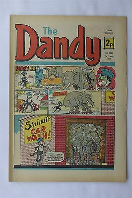 The Dandy 1562 October 30th 1971 Vintage UK Comic Korky The Cat Desperate Dan