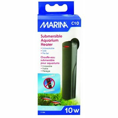 Marina C10 Submersible Compact Heater (10w) Aquarium Heater