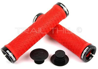 SRAM DH Silicone Locking Grips Double Clamp White 33 x 130mm