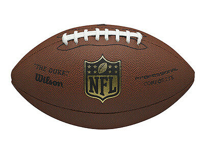NEW Wilson Duke NFL Replica American Football - Composite Leather Official Size9