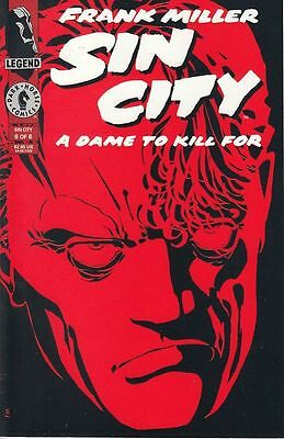 Sin City: A Dame To Kill For #6 (Dark Horse Comics) Boarded. Free Uk P+P!
