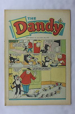 The Dandy 1514 November 28th 1970 Vintage UK Comic Korky The Cat Desperate Dan