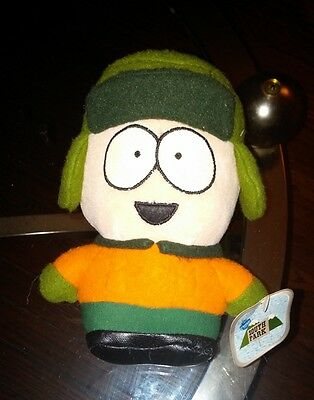 "Plush South Park 1998 Character Doll KYLE  5"" beanbag stuffed toy NWT"