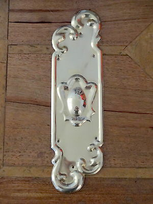 10 X Door Plates Brass Art Nouveau Finger Push Fingerplate