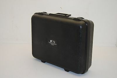 Case Club Blow Molded Plastic Carrying Case w/ Foam Insert, Lockable  NEW (amm)