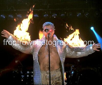 RAMMSTEIN Singer Till Lindemann 8x10 Color Photo