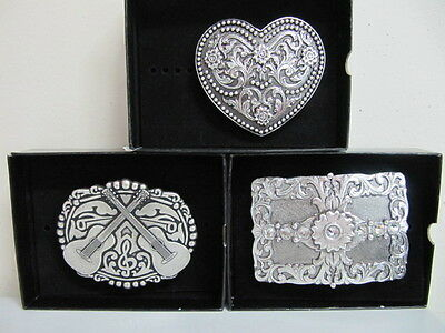 ANDWEST - Belt Buckle Collection - Antiqued Collection - Various Styles - New