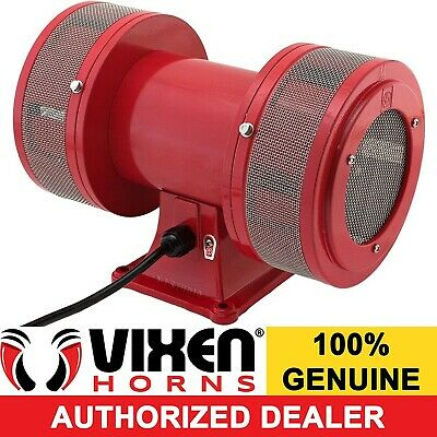 120V Siren School Factory Fire Alarm Security System Industrial Electric Motor