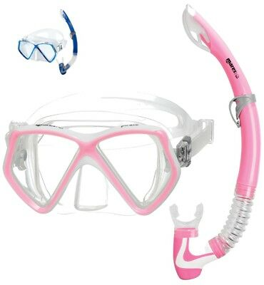 MARES Pirate JUNIOR Mask Snorkel Set - Mares Best Seller -X-Vision Design Mask