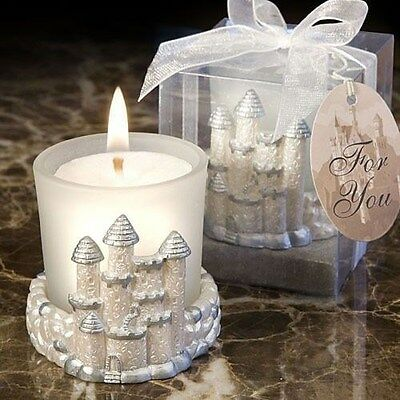 20 Once Upon A Time Fairy Tale Candle Themed Wedding Favors