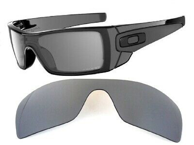 Galaxy Replacement Lenses For Oakley Batwolf Sunglasses Silver Polarized