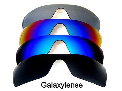 a628654488 Galaxy Replacement Lenses for Oakley Batwolf Black Blue Green Titanium ...