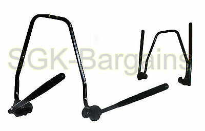 Wall Mount Bike Rack 2 Bicycle Mounted Hanger Cycle Storage Hook Holder Stand