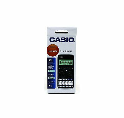 Casio fx-991ex Classwiz Scientific Calculator fx991ex  fx 991 ex 552 function