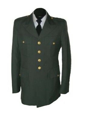 US Army Men's Class A Dress Green Uniform Jackets/Coat