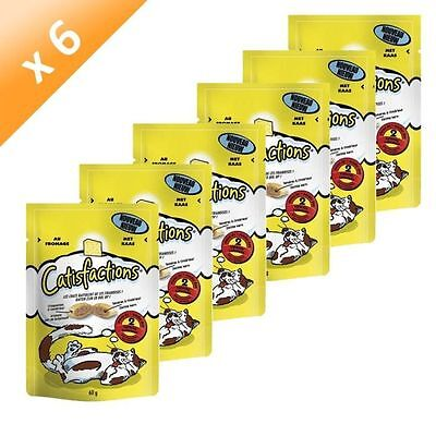 CATISFACTION Fromage 60g (x6) - Catisfactions - Lot de 6 - CATISFACTION NEUF