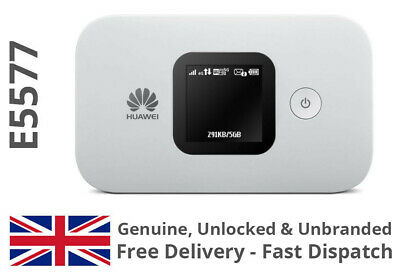 HUAWEI E5577 UNLOCKED BLACK LTE 4G & 3G Mobile MiFi WiFi Wireless Modem E5377