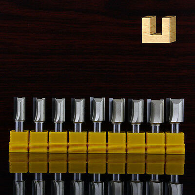 Metric Flute Double Flute Straight Router Bit wood making 0114A