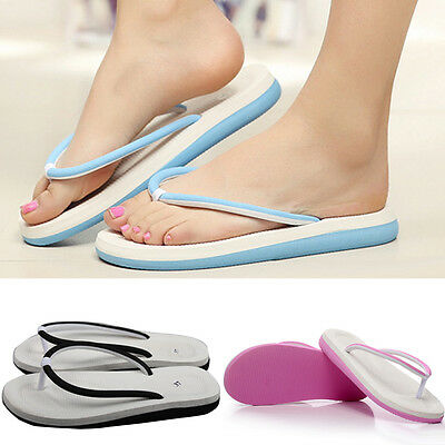 Fashion Womens Summer Casual Flip Flops Beach Slippers Sandals Summer Shoes
