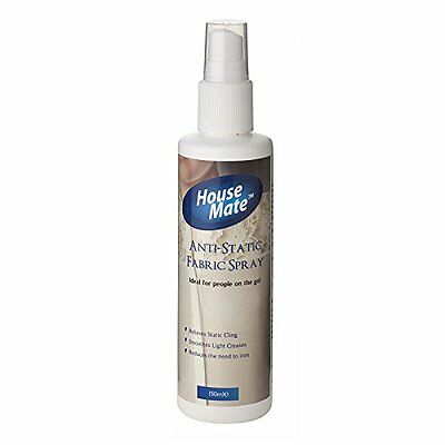 House Mate Anti Static Spray Relieves Static Cling & Reduces Need For Ironing!