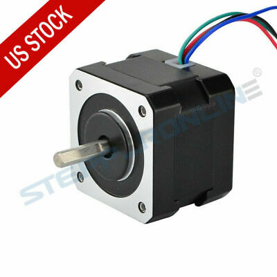 US Ship Nema 17 Stepper Motor 37oz.in 12V 0.4A 3D Pinter Reprap Arduino DIY CNC