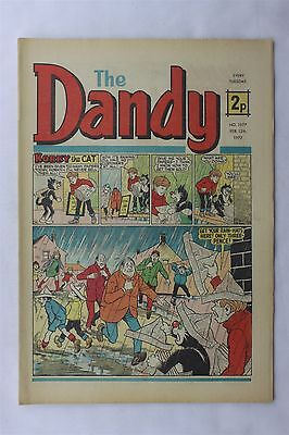 The Dandy 1577 February 12th 1972 Vintage UK Comic Korky The Cat Desperate Dan