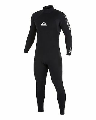 NEW QUIKSILVER™  Mens Syncro Base 4/3MM GBS Steamer Wetsuit Surf