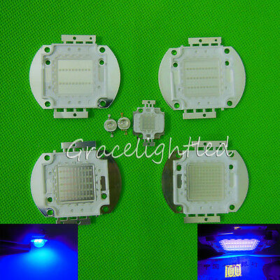 1W 3W 5W 10W 20W 50W 100W UV High Power LED Bead Chip 370nm -375nm Curing Glue