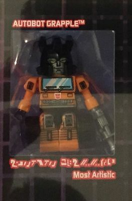 Autobot Grapple Kreon Sdcc 2015 Cybertron Kreon Class Of '85 Transformers Loose