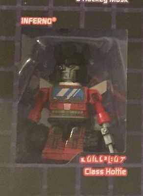 Inferno Kreon Sdcc 2015 Cybertron Kreon Class Of '85 Transformers Loose