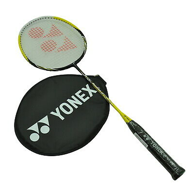 Yonex Badminton Racquet - Muscle Power 5 (MP5G) - Yellow / Black + One Free Grip