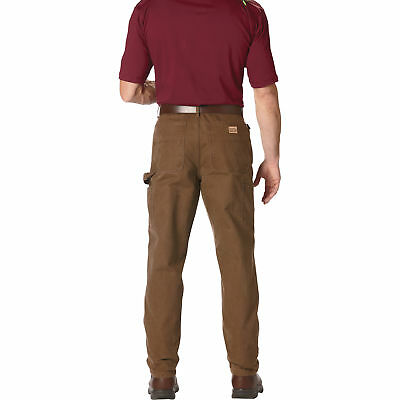 Gravel Gear H-D Carpenter-Style Work Pants Dark Brn 32in Waist x 34in Inseam