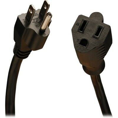 Tripp Lite 15ft Power Cord Extension Cable 5-15P to 5-15R 10A 18AWG 15' P022-015