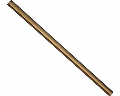Track / Tie Rod 275mm x M8 Round Gold UK KART STORE