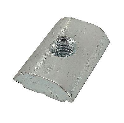 80//20 Inc T-Slot 15 Series 1//4-20 Roll-In T-Nut with Set Screw #3310 N