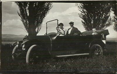 Early Car Auto - Ford? C1910 Real Photo Postcard #11