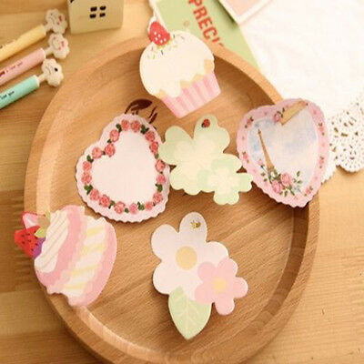 Cupcake Sticker Post It Note Bookmark Mark Index Tab Memo Notepad Sticky Notes
