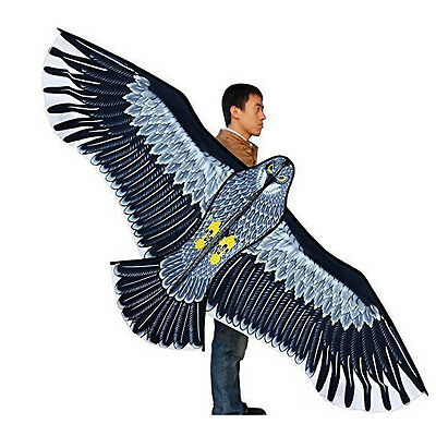 NEW Huge 5.9ft 1.8m Eagle Kite single line Novelty animal Kites Children's toys