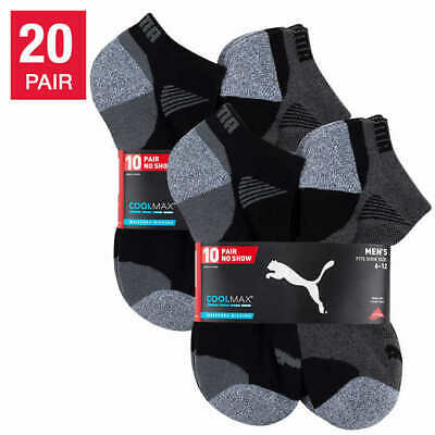 Puma Men's No Show Socks, 8-pair (Select Color / Size) * FAST SHIPPING *