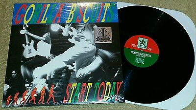 GORILLA BISCUITS - Start Today LP BLACK WAX (EMBOSSED COVER) 25TH ANN SXE NYHC